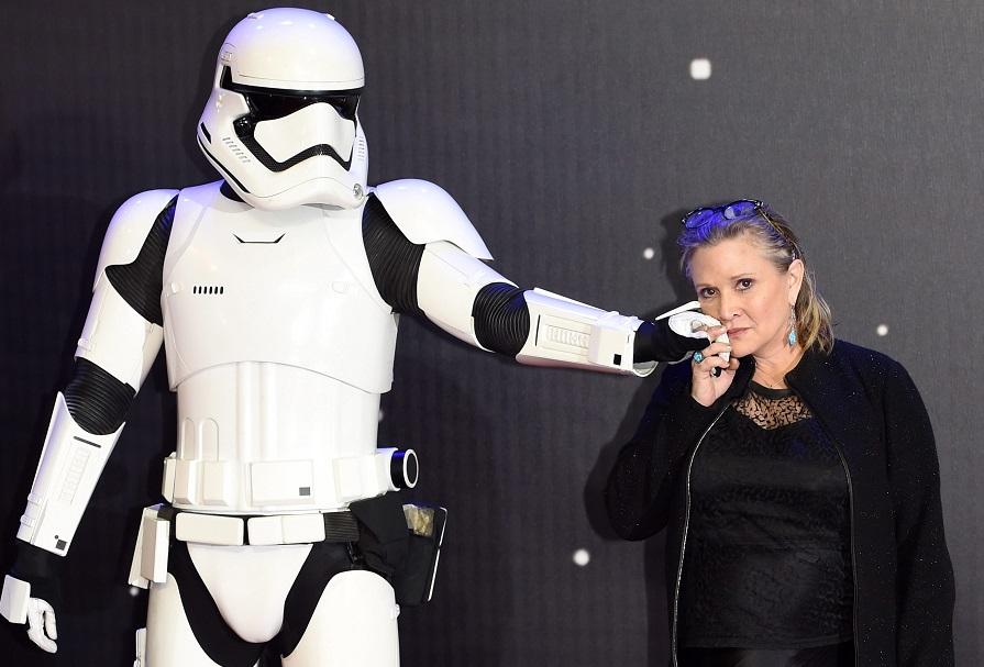 Księżniczka Leia nie żyje