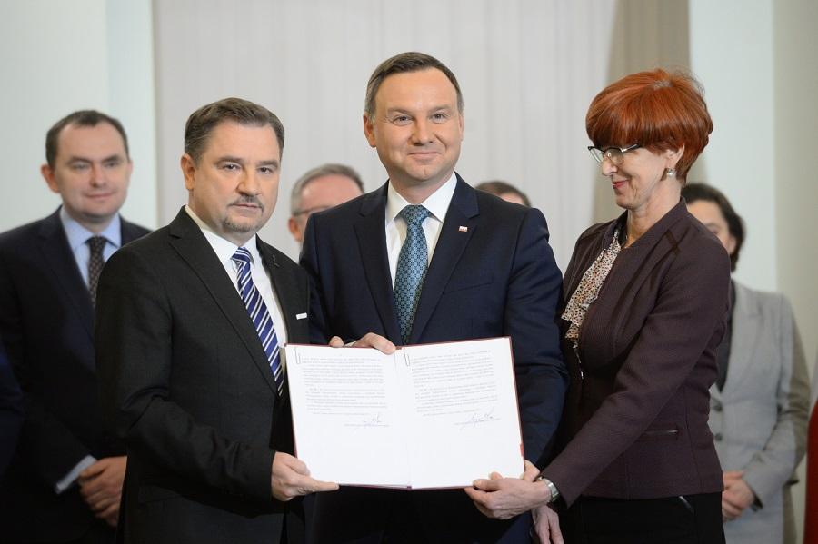 """Wg prezydenta, """"to piękny dzień dla Polski"""""""