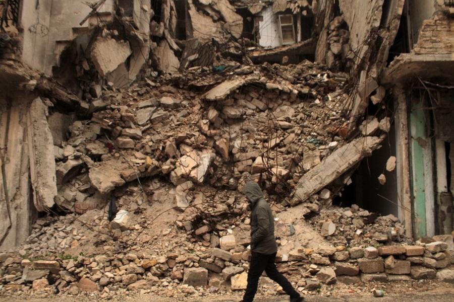 Aleppo płacze