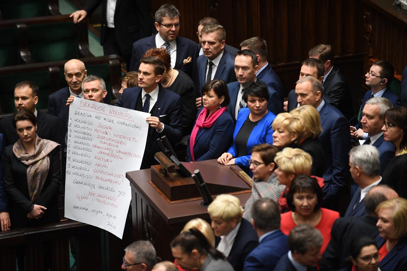 PO zawiesza protest w Sejmie
