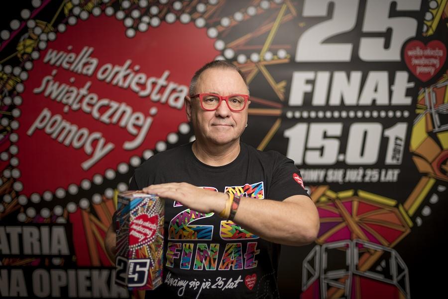 Jurek Owsiak: Elektorat PiS też gra z Orkiestrą