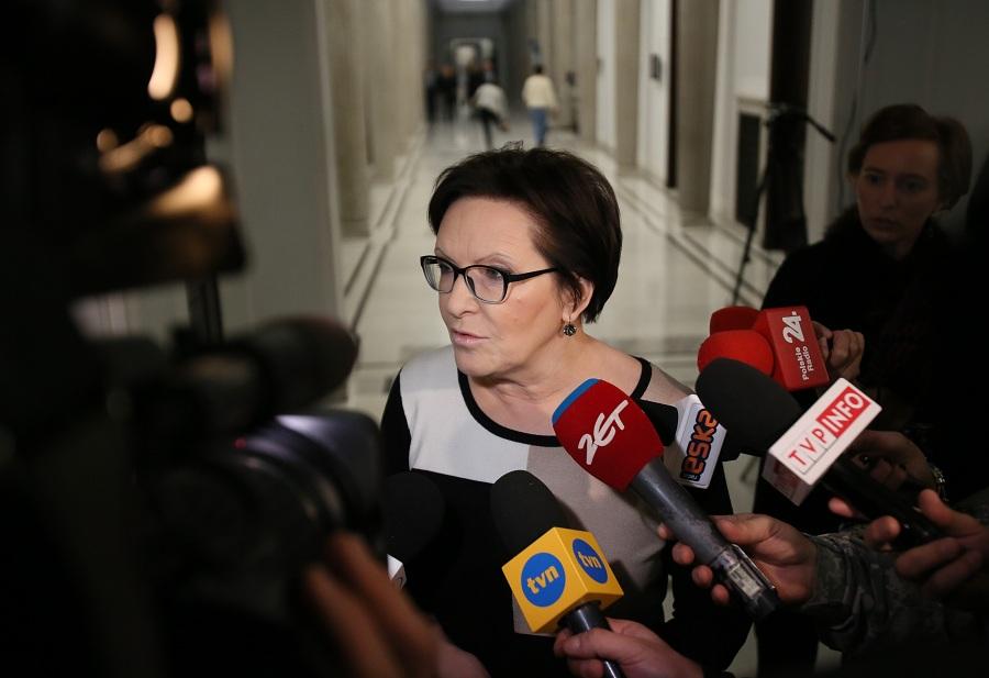 Ewa Kopacz: Nie odpuścimy