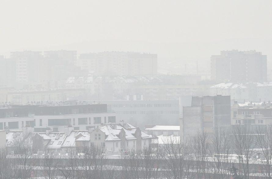 Szydło potygodniu dostrzegła smog