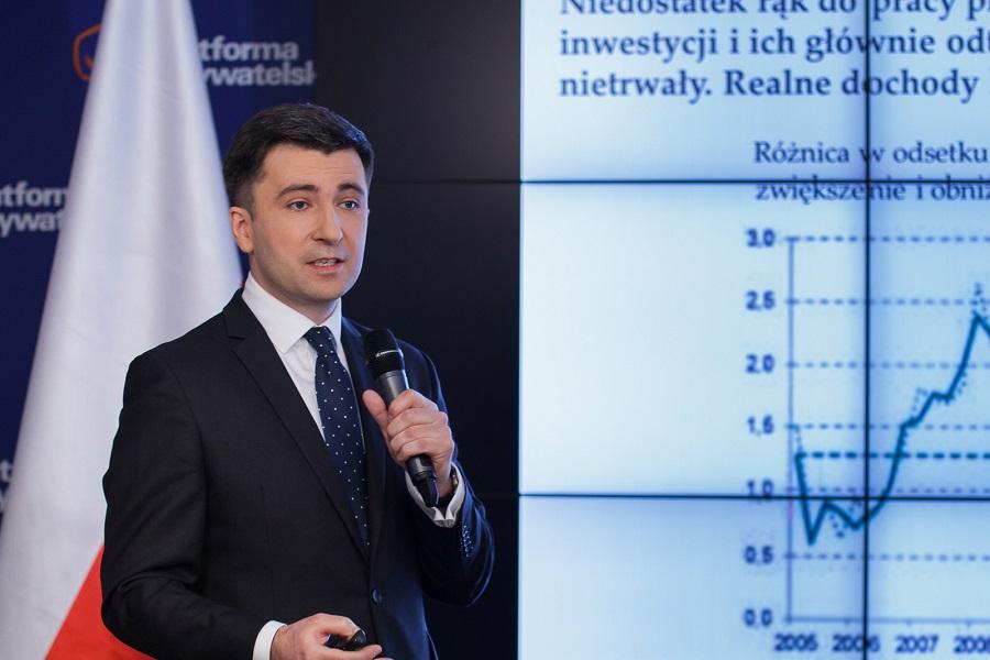 Prof. Andrzej Rzońca głównym ekonomistą PO