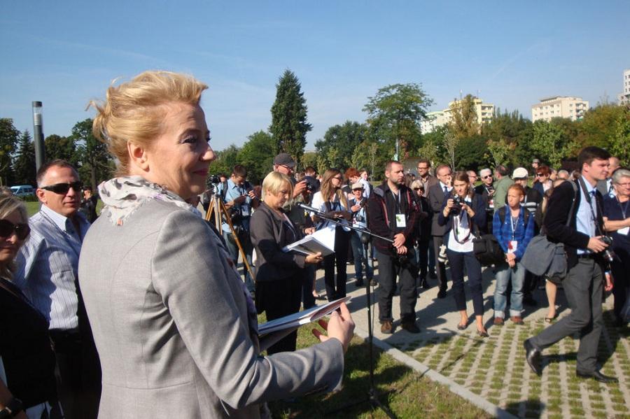 Zarzuty wobec Zdanowskiej umorzone