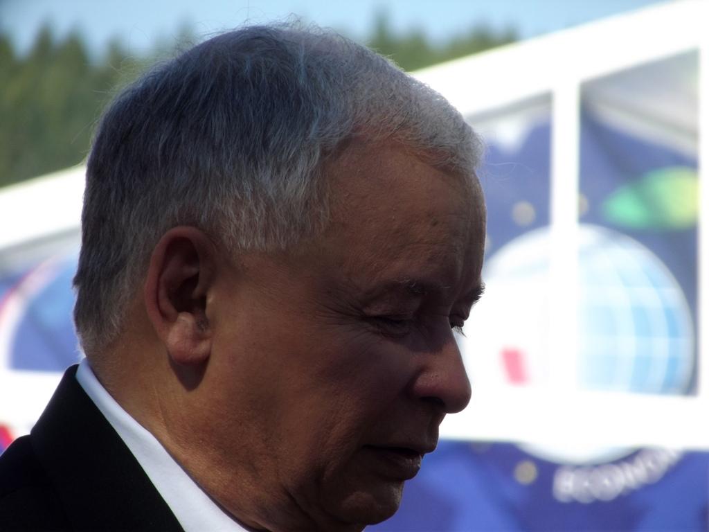 """Triumfalizm Kaczyńskiego, czyli """"to ja jestem wolnością"""""""