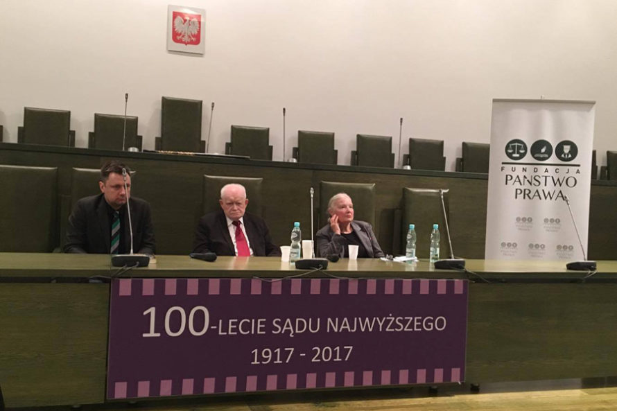Debata Staniszkis/Strzembosz. Władza niszczy państwo izohydza sądownictwo