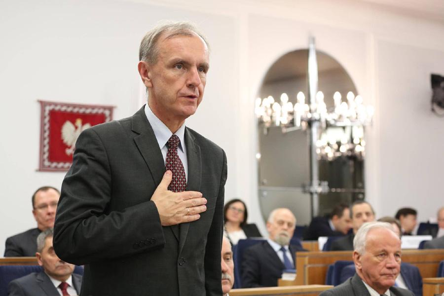 Bogdan Klich: Zbiorowy gwałt na konstytucji
