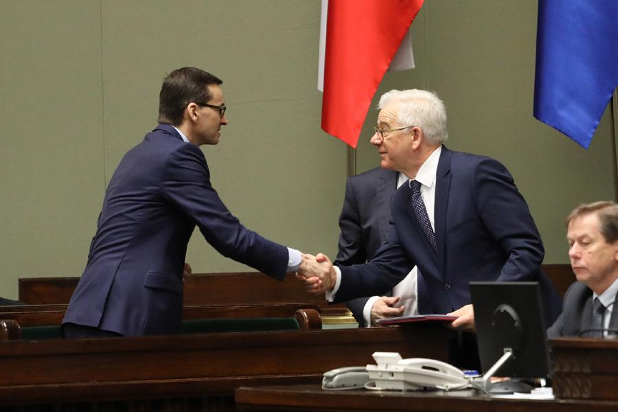 """Exposé szefa MSZ. """"PiS żyje w politycznym matriksie"""""""