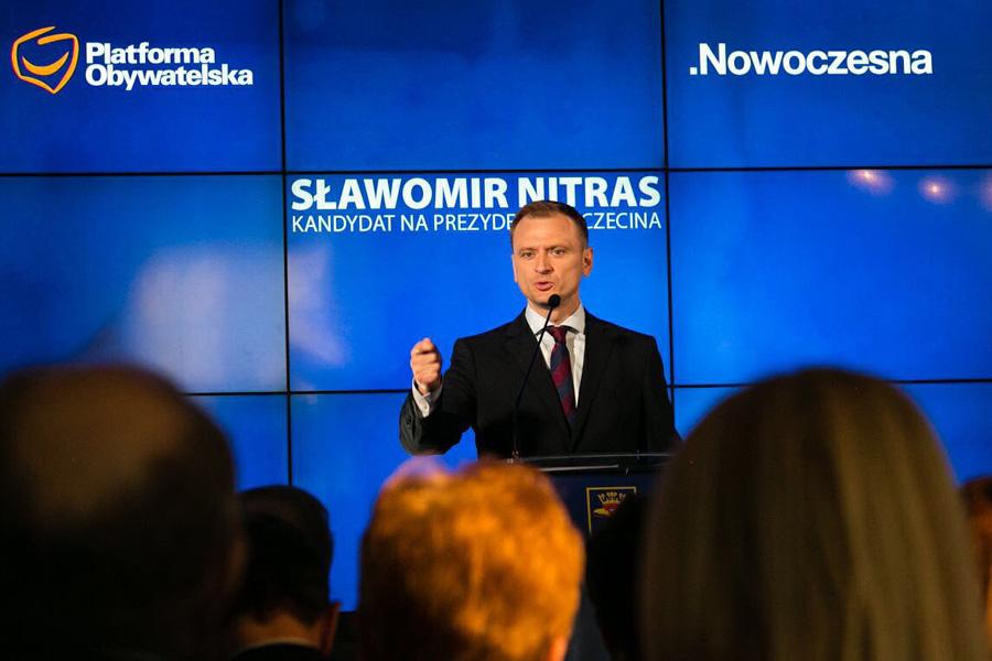 """Sławomir Nitras kandydatem na prezydenta Szczecina. """"Zjednoczona opozycja to siła"""""""