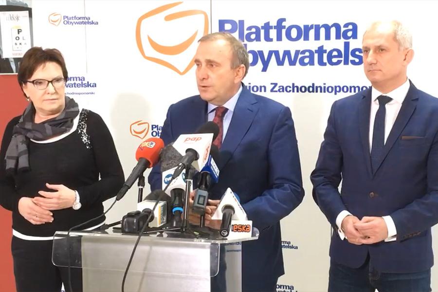 """PO podejmie działania po zatrzymaniu Gawłowskiego. """"Standardy białoruskie"""""""