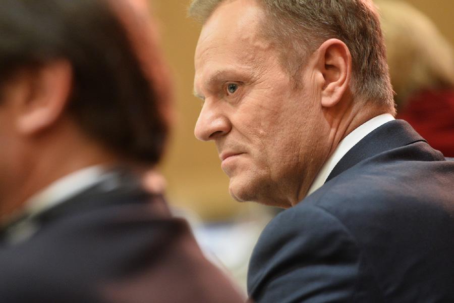 """Tusk zeznawał przed sądem. """"Rozdzielenie wizyt to termin publicystyczny"""""""
