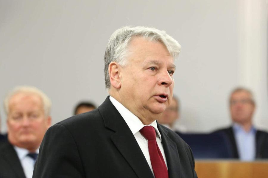 Bogdan Borusewicz: Policjant powiedział, że strzelałby, gdyby dostał takie polecenie
