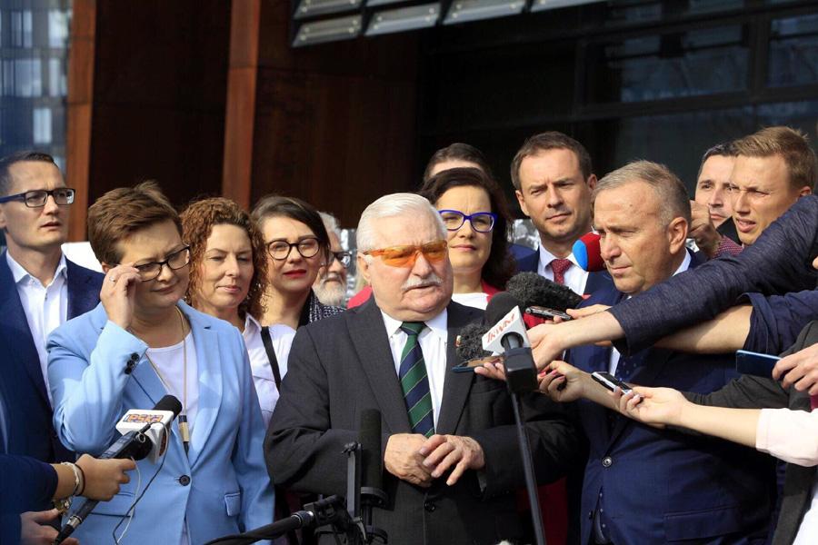 Lech Wałęsa: Nie możemy zniszczyć wielkiego zwycięstwa