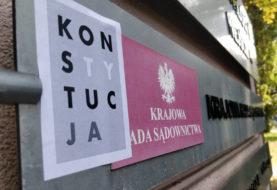 Obywatele blokowali obrady pisowskiej KRS