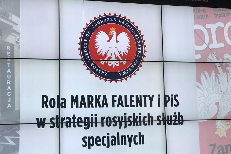 Czy służby rosyjskie miały wpływ na nagrywanie polityków PO?