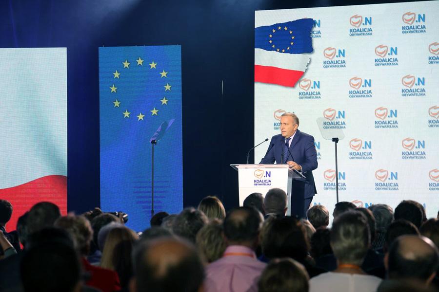 """Konwencja Koalicji Obywatelskiej. """"Idźmy na wybory i walczmy o przyszłość Polski"""""""