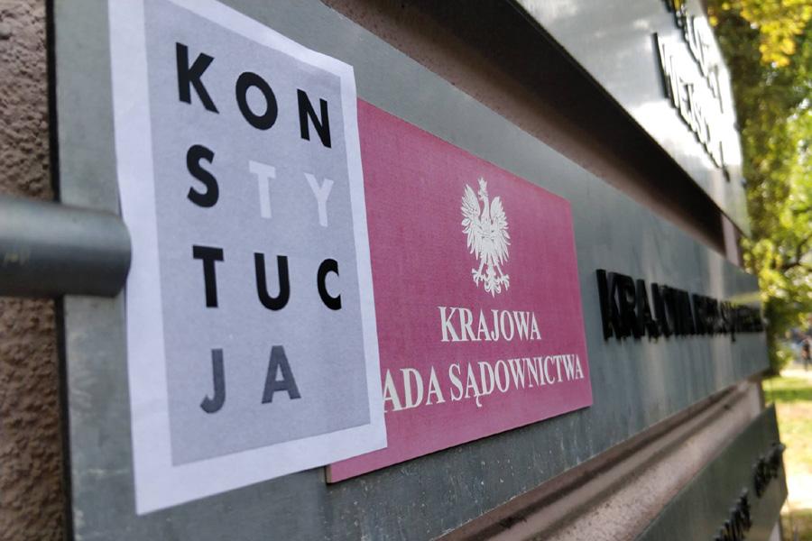Pisowska Krajowa Rada Sądownictwa zawieszona