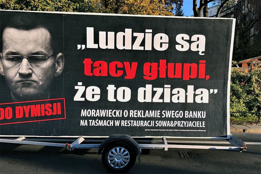 """Ruszył kolejny Konwój Wstydu. """"Pokażemy prawdziwą twarz Morawieckiego"""""""