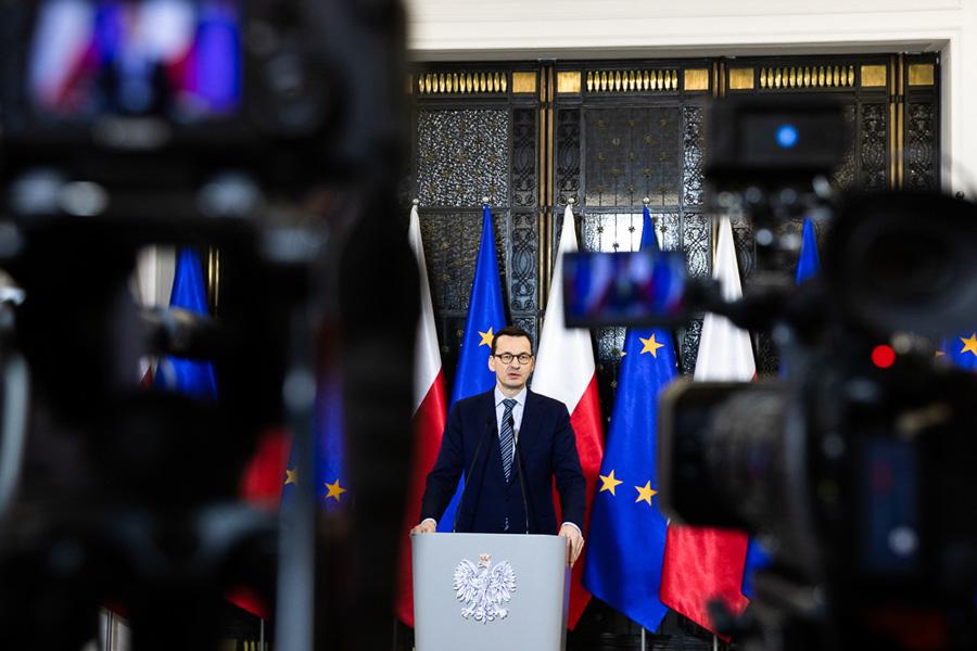 """Spotkanie z premierem. """"Stanął po stronie TVP"""""""