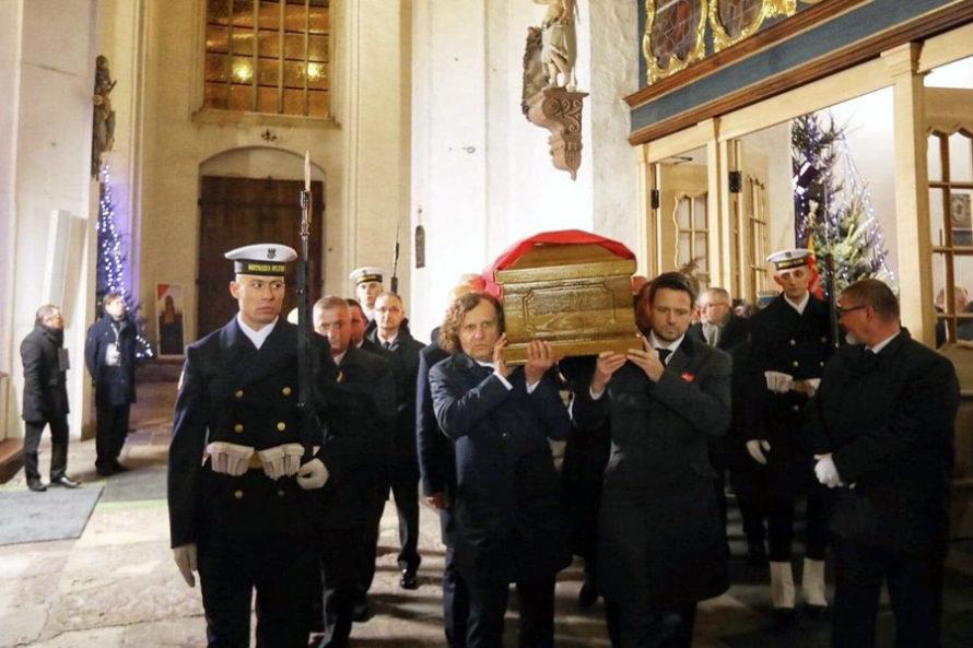 Pożegnanie Pawła Adamowicza wGdańsku