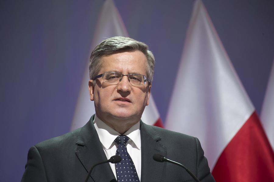 Bronisław Komorowski: Warunkiem zwycięstwa będzie wspólna lista