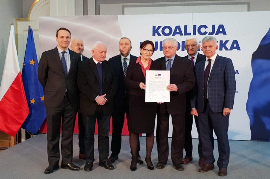Koalicja Europejska dla Polski. Apel owspólną listę