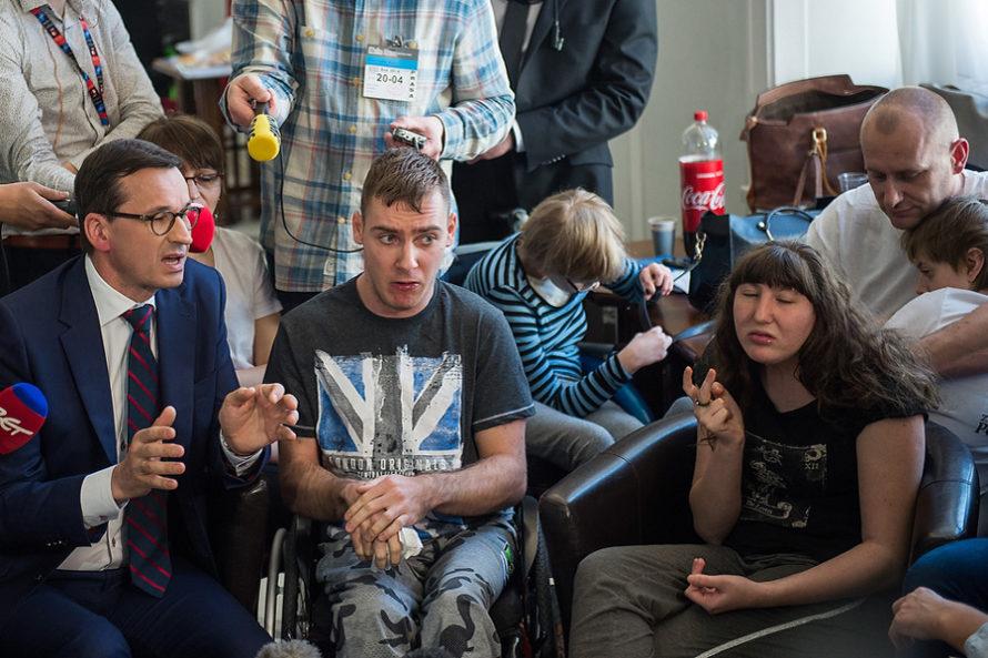 Niepełnosprawni wyjdą naulice