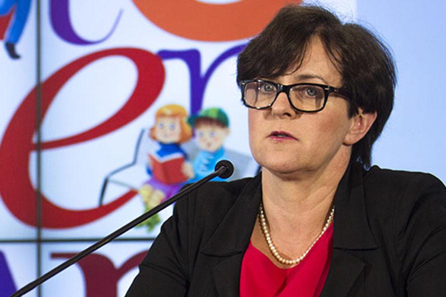 Joanna Kluzik-Rostkowska: Strajk wedukacji jest wyjątkowy